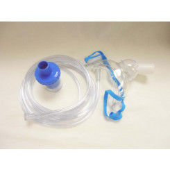 Aerosol Nebulizer Trach Masks Kit With 7' Tubing