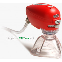 O-Two CAREvent ALS Handheld Automatic Transport Resuscitator