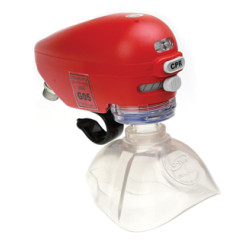 O-Two CAREvent ALS Handheld Automatic Transport Resuscitator With 0 - 25 Regulator In Moulded Case