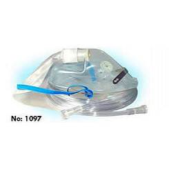 Oxygen High Concentration 100% Non-Rebreathing Mask With 7' Sure Flow Tubing & 1 Side Valve