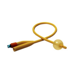 Rusch Gold Silicone Coated 2 Way 5CC Foley Catheter