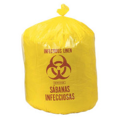 Yellow Bio-Hazard Bags