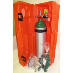 Plastic Oxygen Cylinder Carrying Case