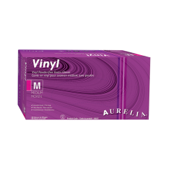 Aurelia Vinyl Gloves POWDER FREE (3822)