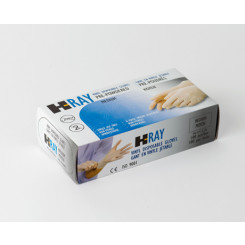 H-Ray Vinyl Exam Gloves
