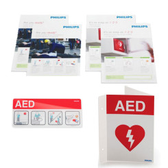 Philips AED Signage Bundle - English
