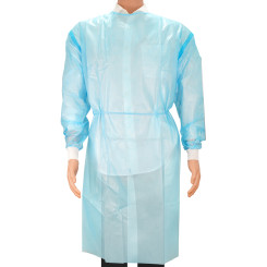 Medbec Level 3 Blue Isolation Gown, universal size - Case of 50