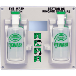 Eye Wash Station, With 2 Empty Eye Wash Bottles