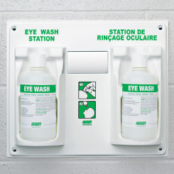 Eye Wash Station, With 2 X 1 L Eye Wash Solution