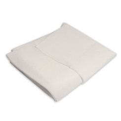 "Heavy Duty Fitted Cot Sheet, 30"" x 83"" White, 50/cs"