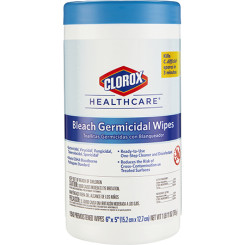 Clorox  Bleach Germical  Disinfecting Wipes – 150 Wipes Per Canister
