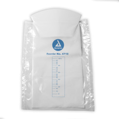 Emesis Bag with Hand Protection, White, 240/Cs