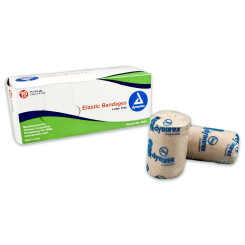 "Elastic Bandages, 3"", 5/10/Cs"