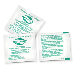 Wet Naps, Hand Cleaning Towelettes case of 1000